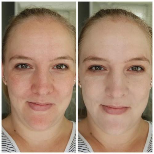 essence insta perfect liquid makeup foundation swatch review cool porcelain
