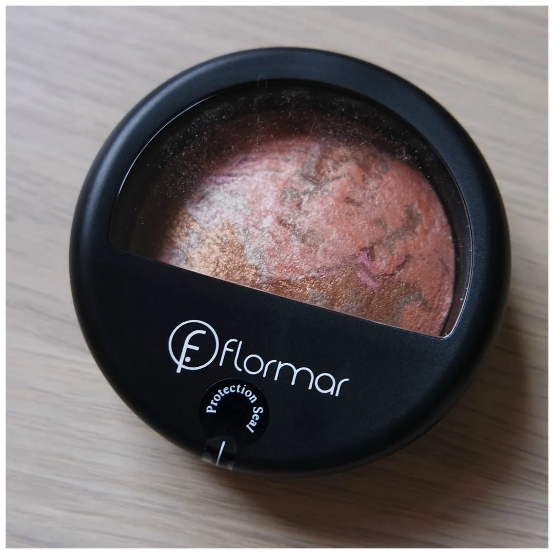 flormar bronzer blush terracotta powder review swatch marble pink gold
