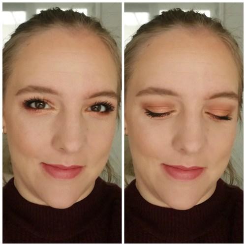Huda Beauty Desert Dusk eyeshadow palette review swatch