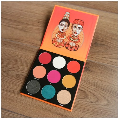 juvia's place the festival eyeshadow palette review swatch makeup look application eye