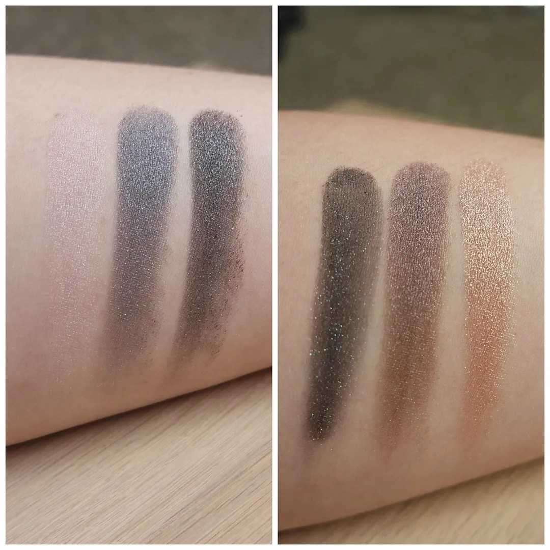 kiko water eyeshadow single mono review swatch