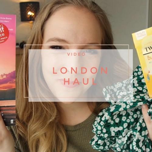 london haul tea fashion beauty makeup books music harry potter
