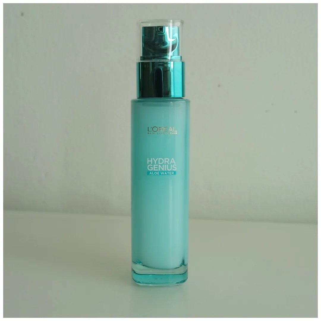 l'oreal hydra genius aloe water skincare review swatch