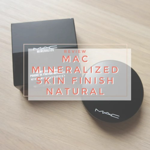 MAC MSF Mineralized Skin Finish Natural Medium Review Swatch powder mineral makeup