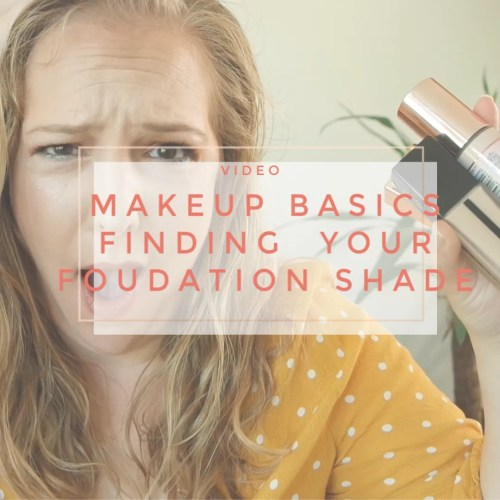 makeup basics how to match pick foundation shade