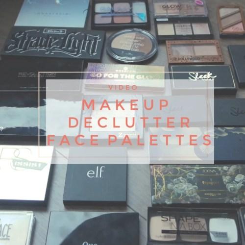 makeup declutter face palettes