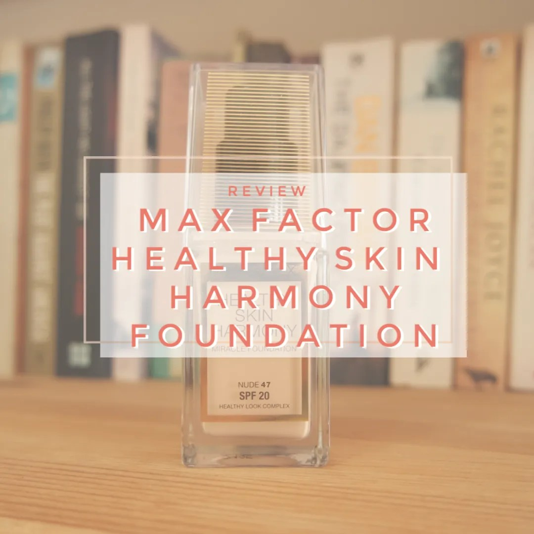 max factor healthy skin harmony foundation review swatch nude 47 covergirl vitalist healthy elixir fair skin dry skin