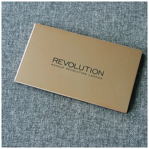 make up revolution flawless 4 eyeshadow palette review swatch