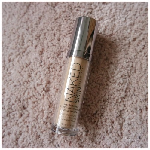 urban decay naked skin foundation review swatch