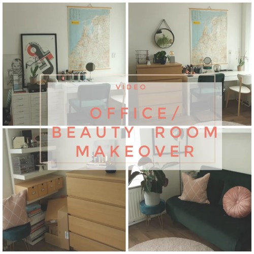 office beauty room makeover home decor