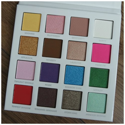 pur my little pony the movie eyeshadow palette limited edition review swatch