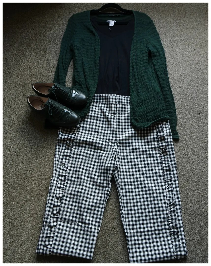 styling gingham trousers pants spring 2018 how to wear