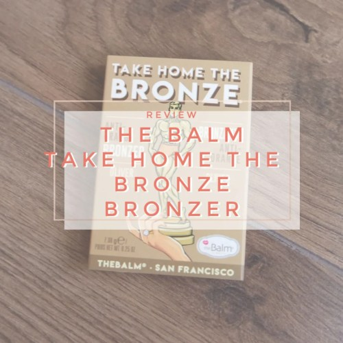 the balm take home the bronze bronzer oliver review swatch makeup look application fair skin