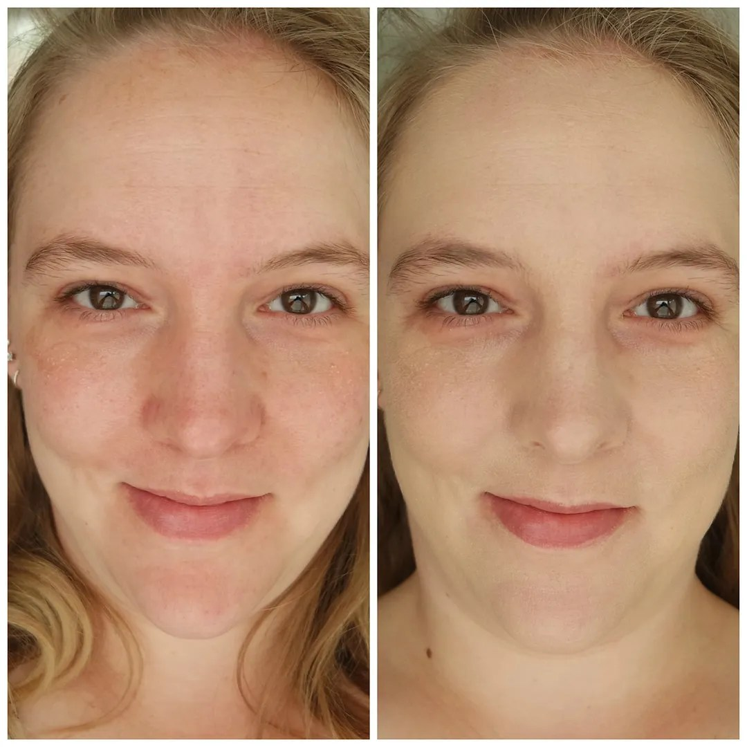 The Ordinary Light Coverage Serum Foundation 1.1 N Fair Neutral review swatch