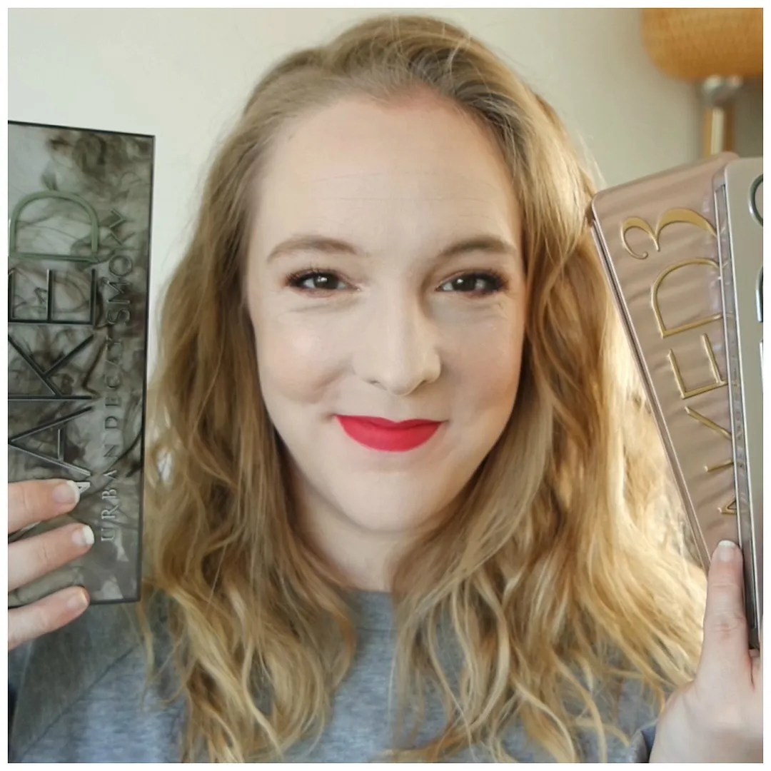 urban decay naked palettes ranked naked 1 naked 2 naked 3 naked smoky naked heat naked cherry review swatch makeup look
