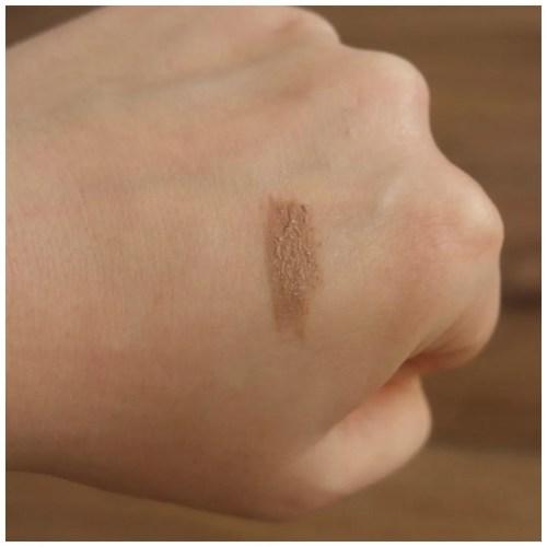 elf wow brow brow gel review swatch makeup look