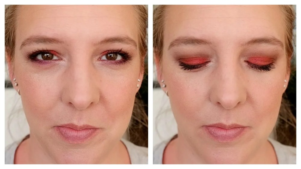 full face makeup look catrice
