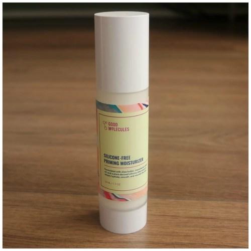 good molecules priming moisturizer skincare review