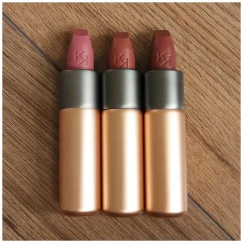 kiko velvet passion matte lipstick 315 328 319 review swatch lipswatch