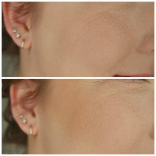 No. 7 Bronzer Golden Sand review swatch makeup look application