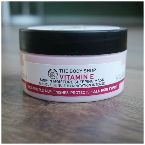 the body shop vitamin e sleeping mask review