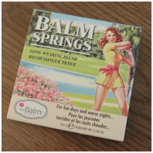 the balm balm springs blush review swatch makeup look fair skin