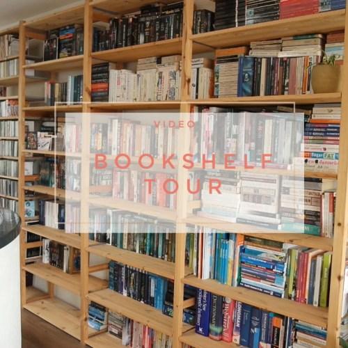 book bookshelf tour organization books
