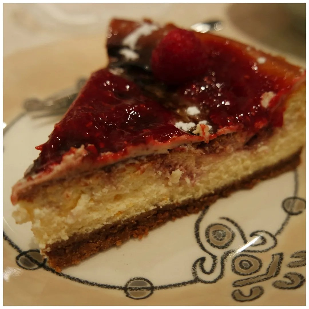 Raspberry ripple cheesecake recipe