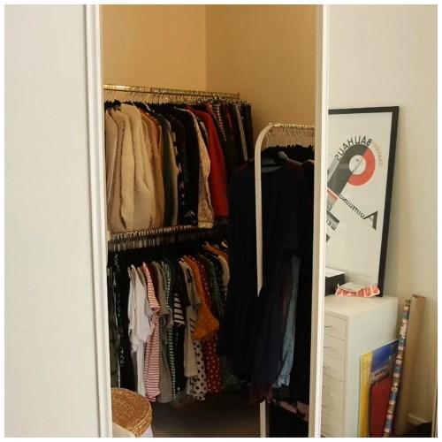 wardrobe tour closet organization how to