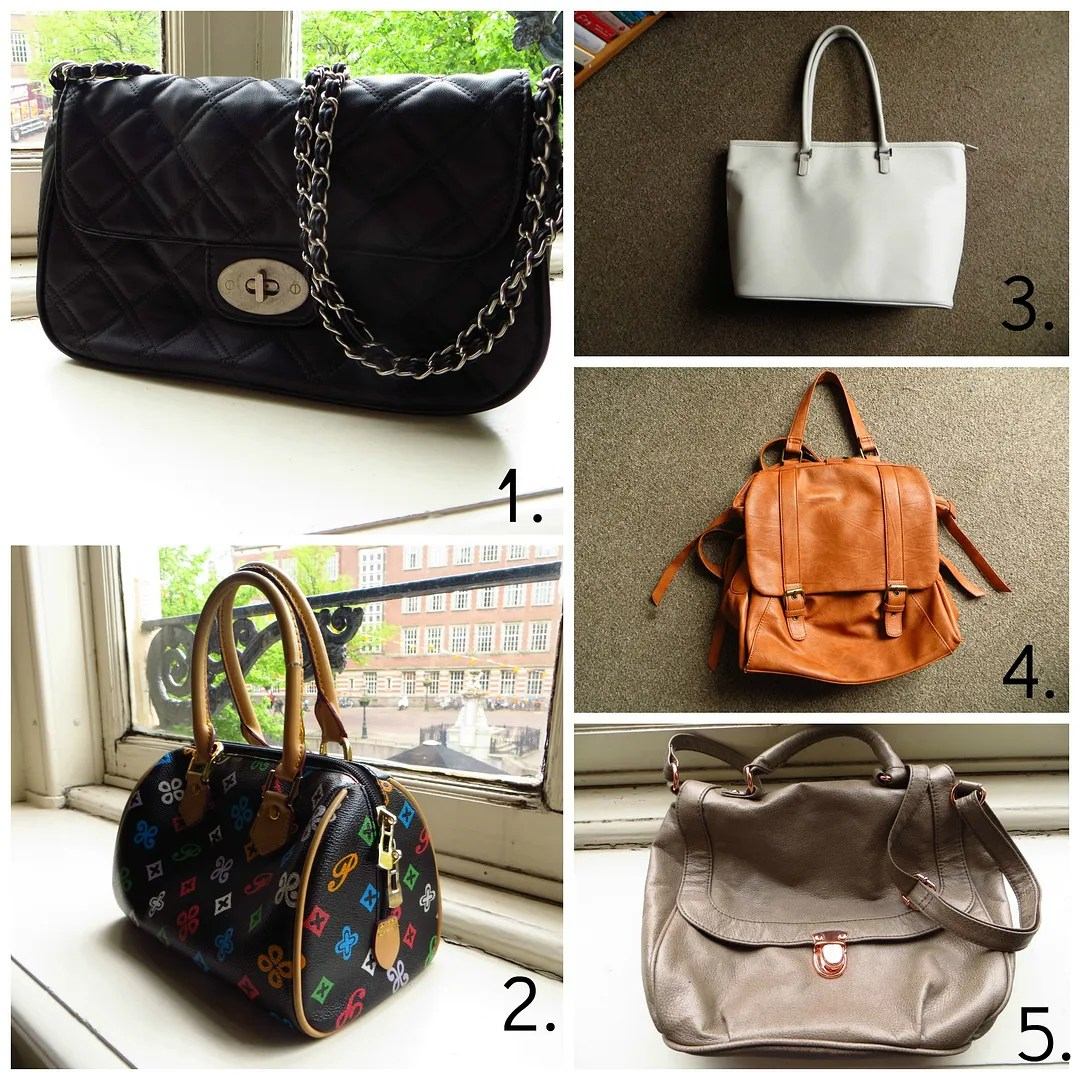 My 5 favorite bags
