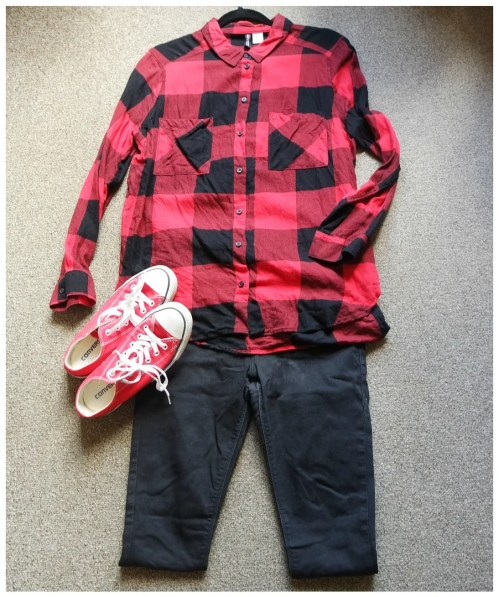 how I wear flannel shirts