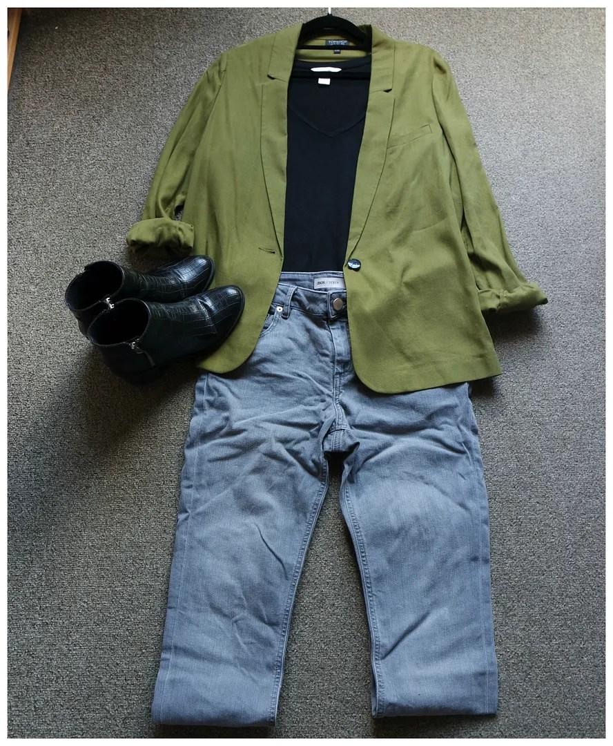 how I wear green