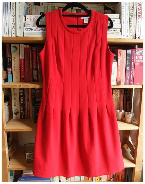 red items in my wardrobe
