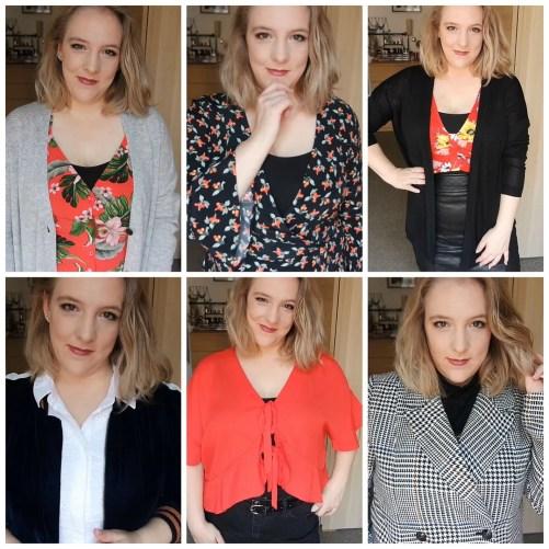 fall transitional fashion lookbook haul