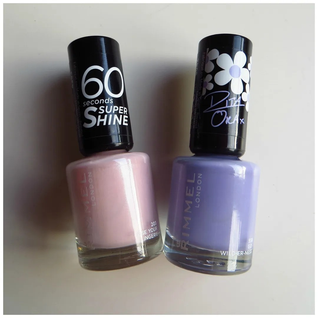 Rimmel 60 Seconds nail polish – Floating in Dreams