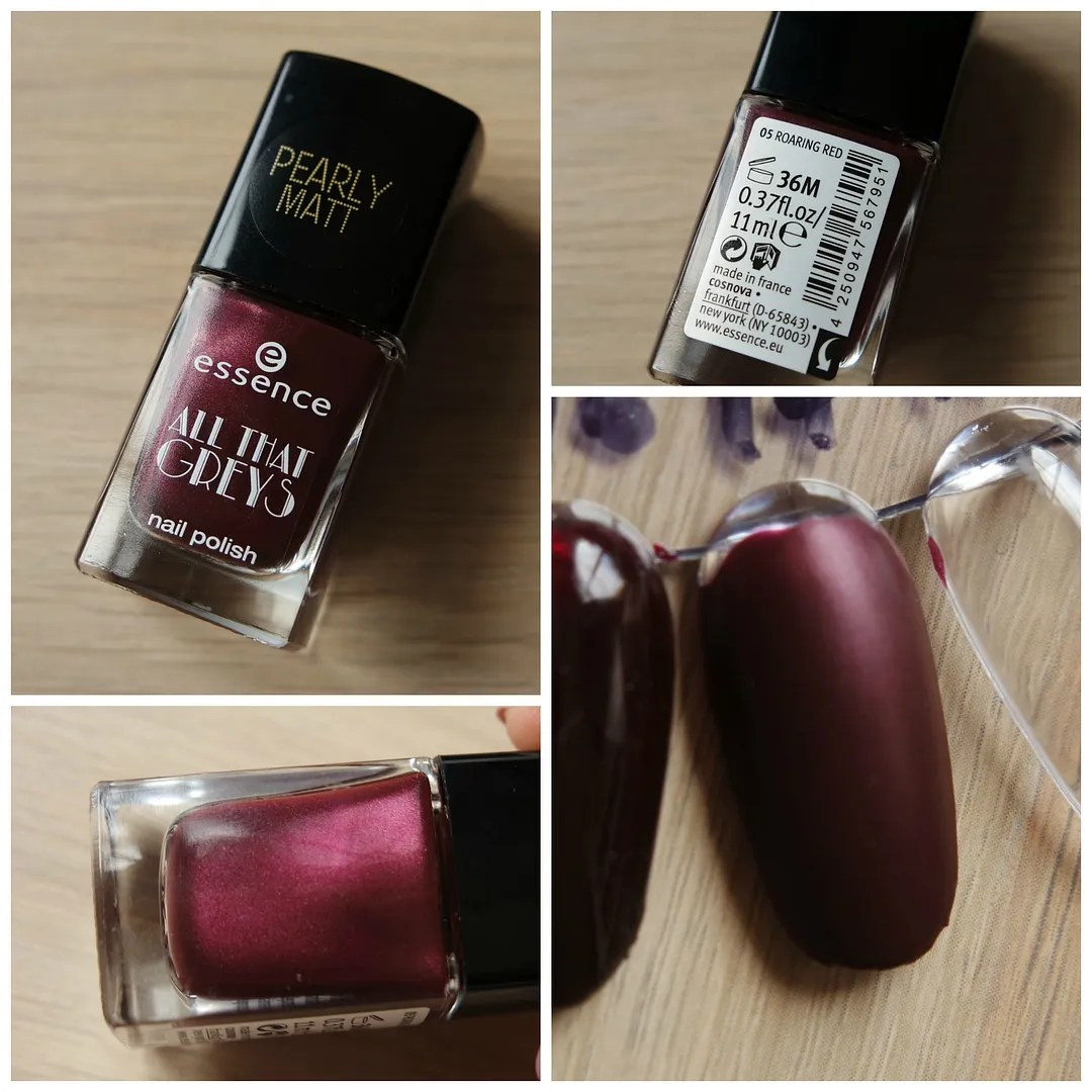 Essence All That Greys Pearly Matt 05 Roaring Red