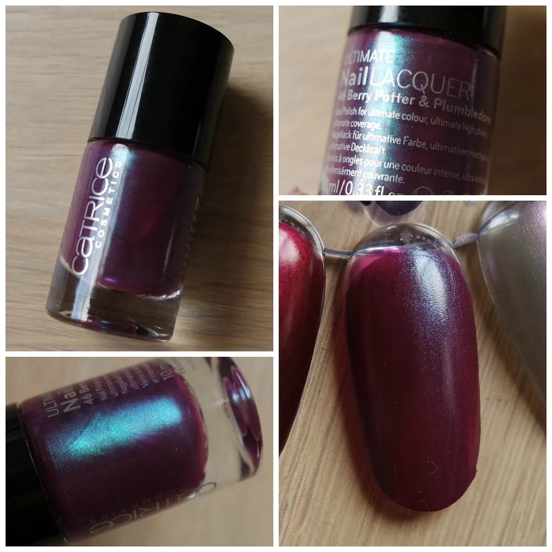 Catrice Ultimate Nail Lacquer 48 Berry Potter & Plumbledore