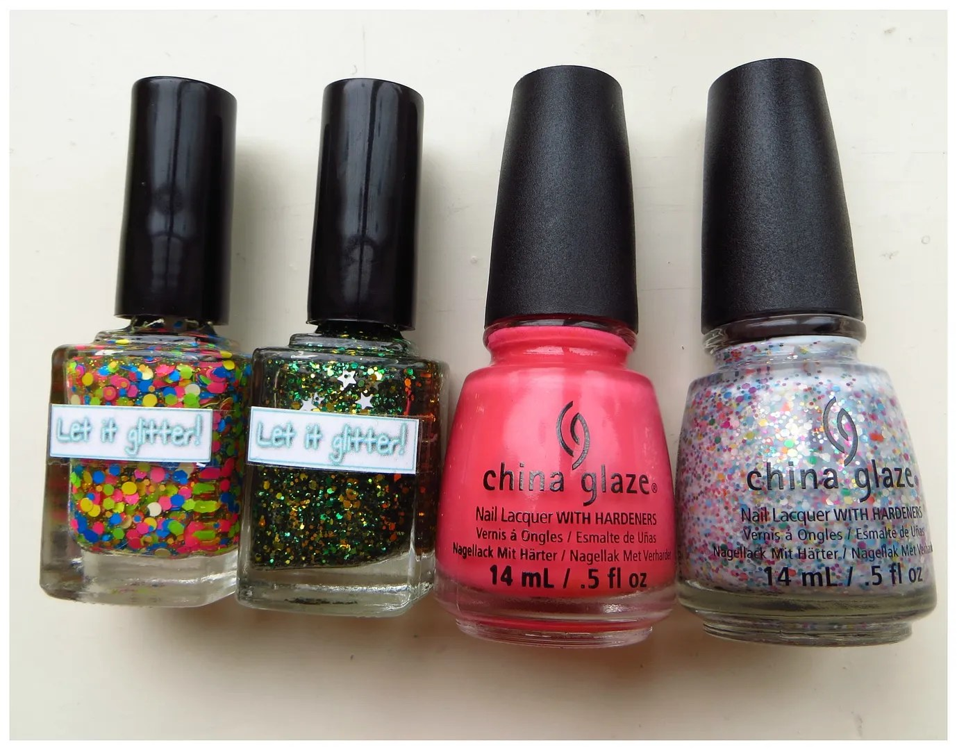 New in: China Glaze & Let it glitter nail polish – Floating in dreams