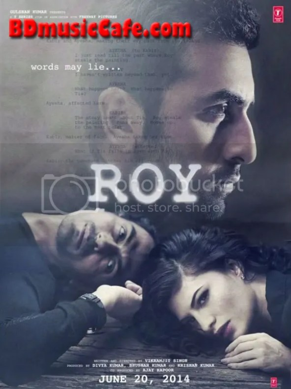 Roy Hindi Movie First Look, Poster, Movie Information
