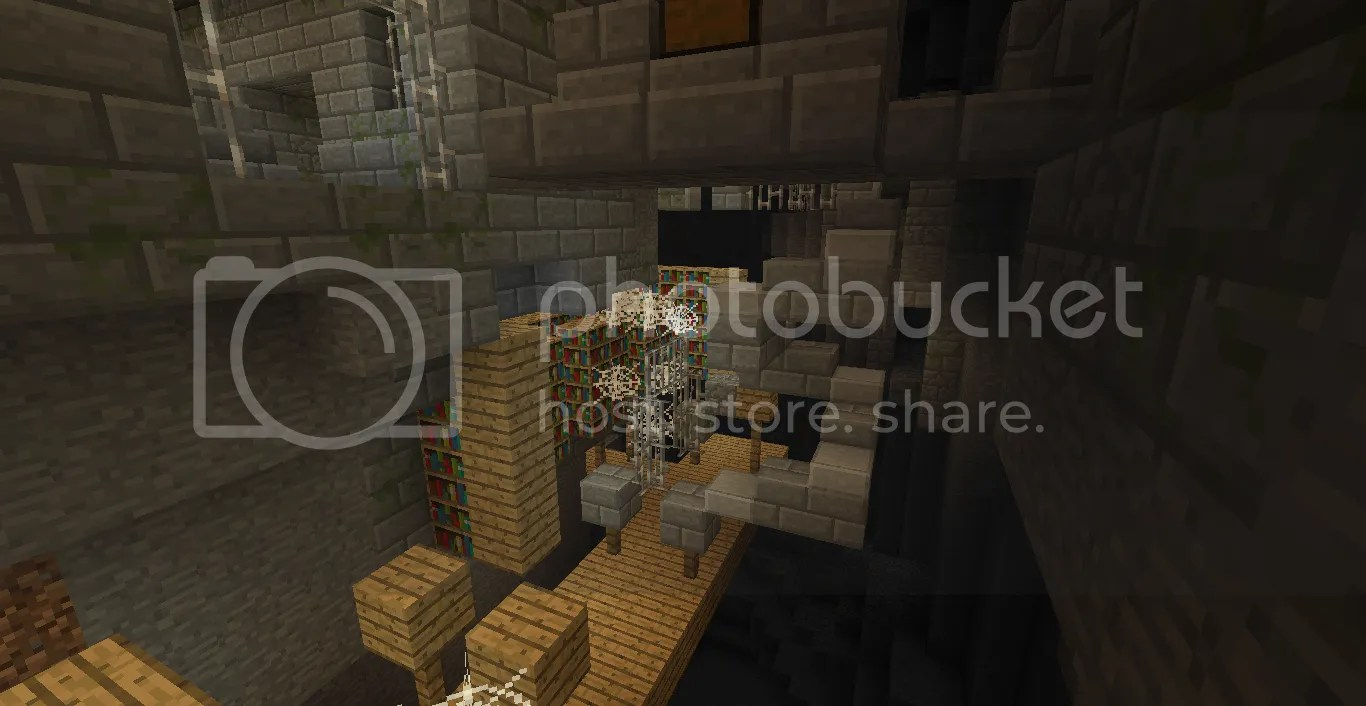 Cave Stronghold Minecraft