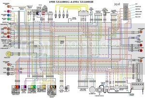 Wiring Diagram'80 XS11 LG Midnight Special  XS11 Forums