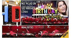 VideoHive: Happy Birthday All Languages (AE-Project)