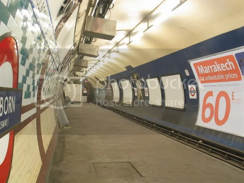 Holborn Abandoned Platform