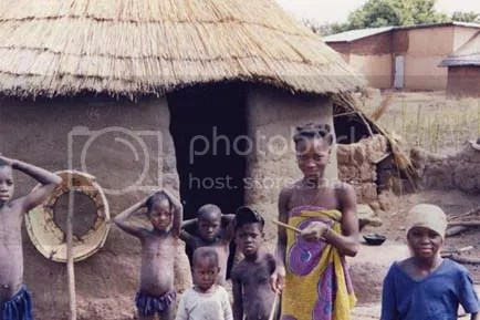 The village of Peperkou in central Benin