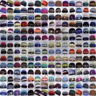 A photo collage showing Carrie Cahill Mulligan's Heirloom Handknit Felt Hats sold in 2006.