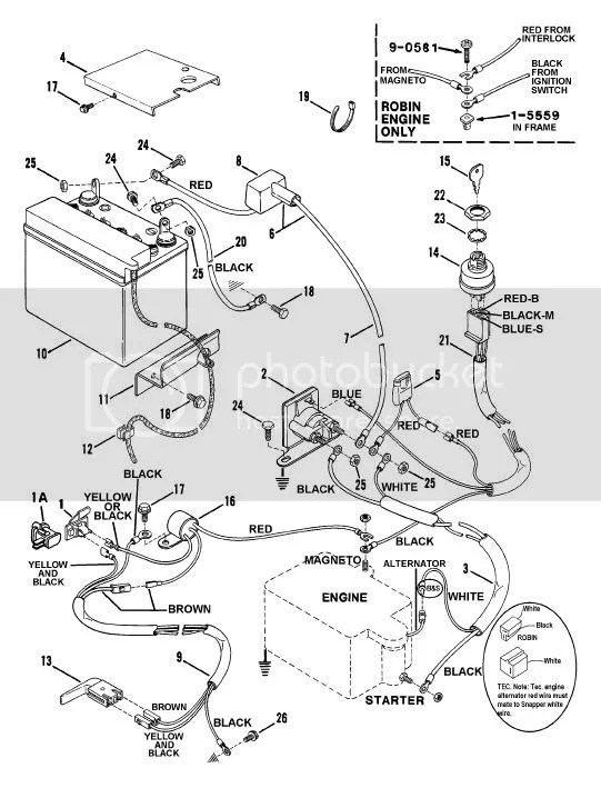 SnapperRERWireHarness3?resize\=541%2C709 wireing diagram for starter solenoid on snapper sr1433 mower Snapper Ignition Wiring Diagram at panicattacktreatment.co