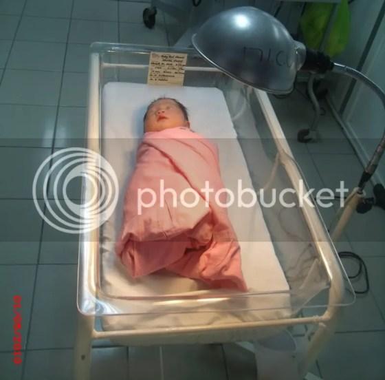 new born baby jhaydii