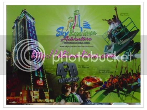 skywalk and sky adventure in Cebu Regency Hotel