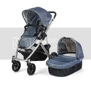 baby stroller and basket