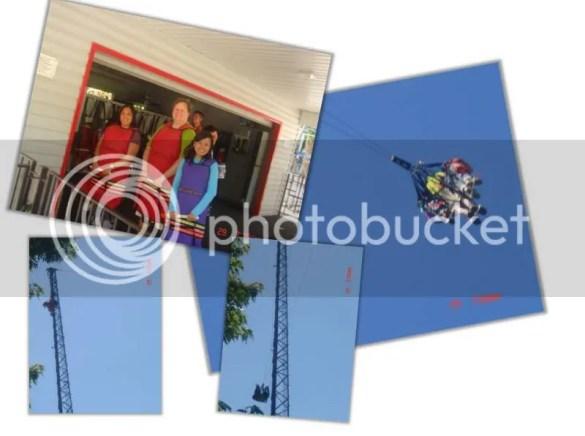 Sky Coaster Experience - July 2009